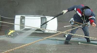 Миття фасадів та вікон в Тернополі