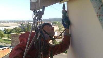 Монтаж антен, кондиціонерів, кабелю  в Тернополі