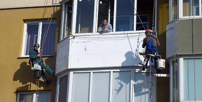 Утеплення балкона в Тернополі