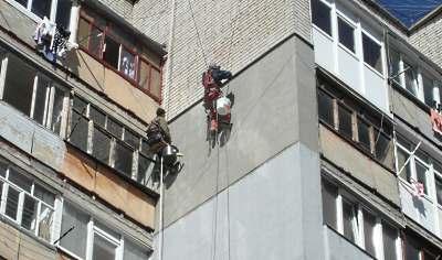 Утеплення зовнініх стін в Тернополі (з вірьовок)